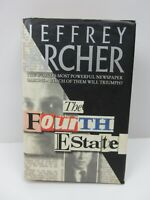 The Fourth Estate by Jeffrey Archer 1st Edition Hardcover Dust Jacket