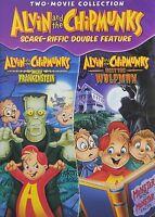 Alvin and the Chipmunks - Meet Frankenstein & Meet the Wolfman (DVD) NEW