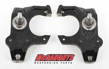 Mcgaughys 5557 Chevy BelAir Front 2 inch Drop Spindles 1955 1956 1957 USA Made