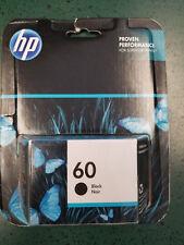 Genuine HP 60 Black Cartridge 7/2018