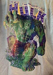 The Immortal Hulk T-Shirt Medium M Marvel Comics Green New