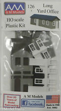 AM Models HO #126 Long Yard Office  (Plastic Kit)