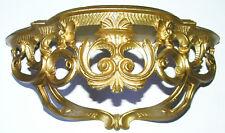 Vtg Italian Italy Gold Gilt Syroco Rococo Wall Hanging Shelf Shelves Mid Century