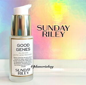 SUNDAY RILEY Good Genes All-In-One LACTIC ACID Treatment 1oz/30ml NEW ~ $85