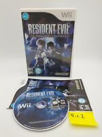 Resident Evil: The Darkside Chronicles (Nintendo Wii) Complete, No Scratches!
