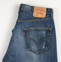 Levi's Strauss & Co Hommes 501 Jeans Jambe Droite Taille W34 L32 APZ623