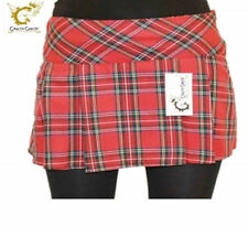 Party Check Pleated, Kilt Skirts for Women