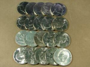 1971-S Eisenhower Dollar Silver Uncirculated Roll Of 20 Coins