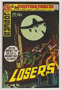 Our Fighting Forces Featuring the Losers #130, Very Fine Condition