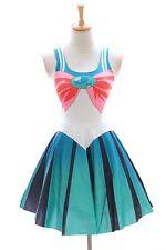 SK-09 Gr. S-M  Sailor Moon Jupiter Grün Kleid dress Cosplay Manga Kostüm Anime