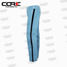 Us Civil War Cs Sky Blue Trouser with 1.5 inch Yellow/Red/Black/Navy Rank Stripe