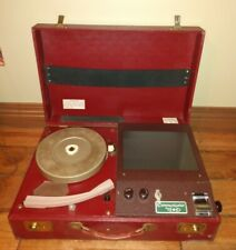 New listing Very Old Vintage Record Player Only One Found Google C.O.C Comincator examiner