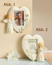 Gilde Angel Photo Picture Frame ( fig. 1) Encouragement Guardian Angel - 20294c