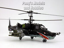 Kamov Ka-50 Black Shark 1/72 Scale Assembled & Painted Plastic Model Helicopter