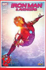 IRON MAN & LES AVENGERS 2 02 Juil 2017 Marvel Now! now Panini CASELLI # NEUF #