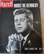 PARIS MATCH 764 Décès de Kennedy Clezio Menotti Calder Chaplin