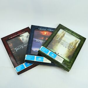 The Lord Of The Rings Elijah Wood 1 2 3 Trilogy Limited Edition Window Case DVD