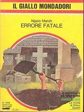 ERRORE FATALE - NGAIO MARSH