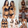 Womens Sexy Lingerie Lace Dress Babydoll Nightwear Sleepwear G-string Underwear