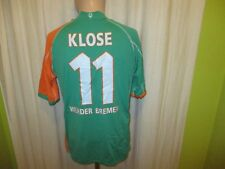 "Werder Bremen Kappa Trikot 2005/06 ""KIK TEXTIL-DISKONT"" + Nr.11 Klose Gr.L- XL"