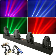Moving 4-Head Stage Light RGBW Gobo LED DMX512 Sound Active DJ For Party Club