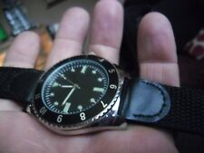nice gents 1970s us navy divers military style quartz  watch