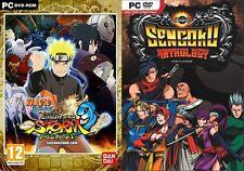 Naruto Shippuden Ultimate Ninja Storm 3 Full Burst & Sengoku ANTHOLOGY Nuevo y Sellado