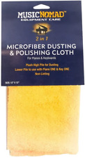 More details for music nomad microfiber dusting & polishing cloth for pianos & keyboards...