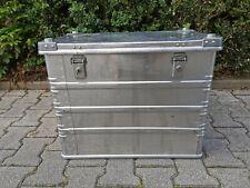Zarges Aluminium Box Bundeswehr Transportbox inkl. Schlüssel - ähnlich K470