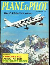 Plane & Pilot Magazine September 1970 Cherokee Six EX No ML 112916jhe