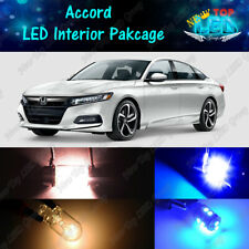 14x Blue Interior LED Lights Package Kit for 2013 - 2018 2019 2020 Honda Accord