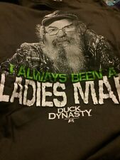 Duck Dynasty Uncle Si I Always Been A Ladies Man T Shirt Sz XL