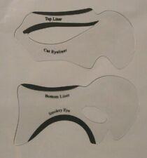 Eyeliner cat eye guide smoky eye make up practice tool how-to help stencil set