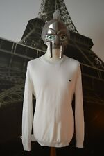 Lacoste Men's White Jumper/Sweater Size 6 (X-Large)