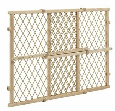 Evenflo Position and Lock Wood Gate Wood Tan