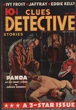 Clues Detective1936 July.     Pulp