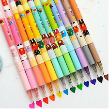 12X Multi Kawaii Animal Colorful Gel Ink Pens Stationery Gift School Supplie Set