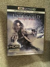 Underworld Blood Wars 4K Bluray 1 Disc Set ( No Digital HD)In Hand Ready To Ship