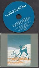 TORTOISE AND BONNIE PRINCE BILLY The Brave And The Bold CD COVER VERSIONS