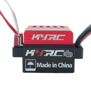 60A Brushed Motor ESC Electrical Speed Controller for 1/ 10 RC Car Buggy Truck