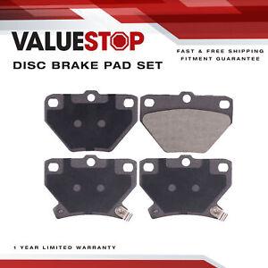 Rear Ceramic Brake Pads for Pontiac Vibe; Toyota Celica, Corolla, Matrix