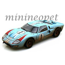COLLECTIBLES 405 1966 FORD GT40 GT 40 MARK MK II 1/18 LIGHT BLUE  #1 DIRTY