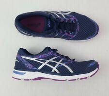 ASICS Women's Gel-Excite 4 Indigo Blue/Orchid Running Shoe Sz 11D (wide) EUC