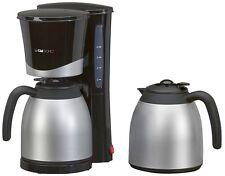 Clatronic KA 3328 Kaffeemaschine Schwarz/Silber OVP + NEU!