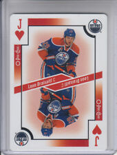 17/18 OPC Edmonton Oilers Leon Draisaitl Jack of Hearts Playing card