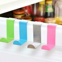 2Pcs/Set Clothes Hanger Door Hook Stainless Steel Kitchen Storage Hanger Z3M1