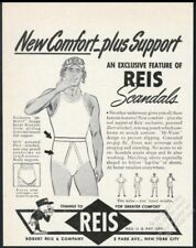 1943 US soldier in pilot's helmet Reis Scandals men's underwear vintage print ad
