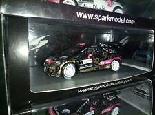 RARE!  1:43 CITROEN DS3 wrc - Sebastian Loeb by Spark - Alsace 2013 SF063