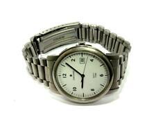 Geschäftsauflösung - Junghans - Silberfb. Uhr mit Metallband (Q) neuw. US134