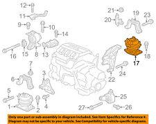 HONDA OEM 11-16 Odyssey-Engine Motor Mount/Torque Strut 50810TK8A01